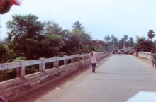 The Bhubaneshvara to Puri National Highway bridge