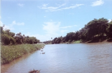 The sacred river Bhargavi