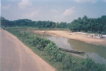 The sacred river Dandabhanga